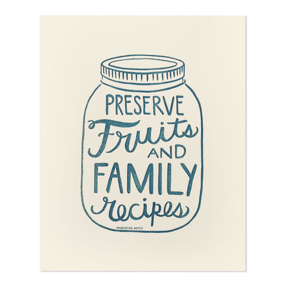 Preserve Fruits and Family Recipes 8