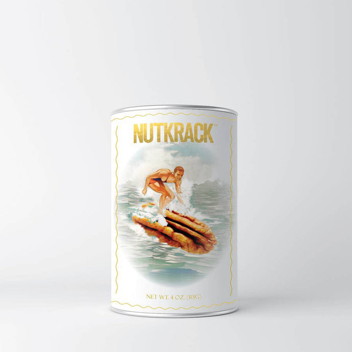Nutkrack Candied Pecans 4 oz Can