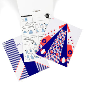 Coloring Paper Planes Creative Kit