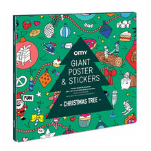 Christmas Tree Giant Poster & Stickers Set