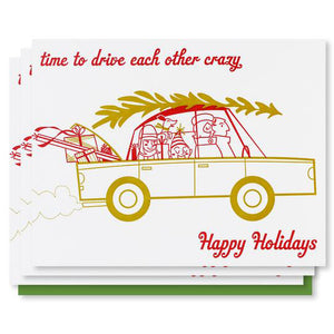 Drive Crazy- Holiday Card Pack