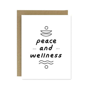 Peace & Wellness Greeting Card