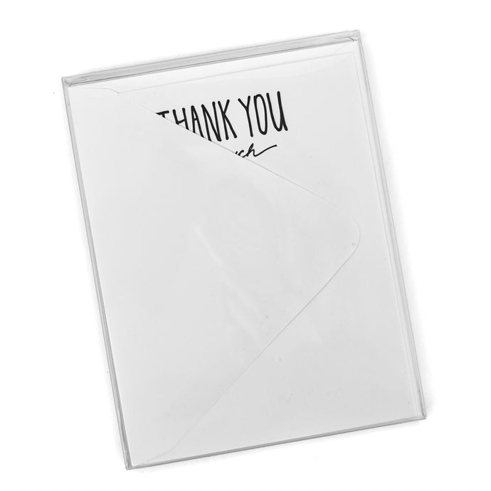 Thank You Letterpress Notecards (Set of 10)