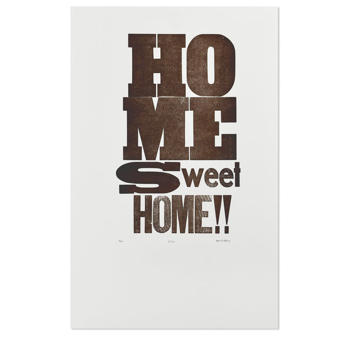 Home Sweet Home Brown 11