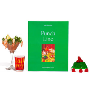 Punch Line Retro Holiday 1000 Piece Puzzle