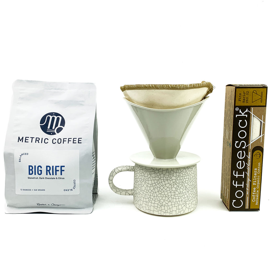 Pour Over Coffee Starter Kit