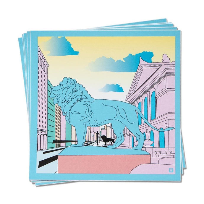 Art Institute of Chicago Illustration Sticker