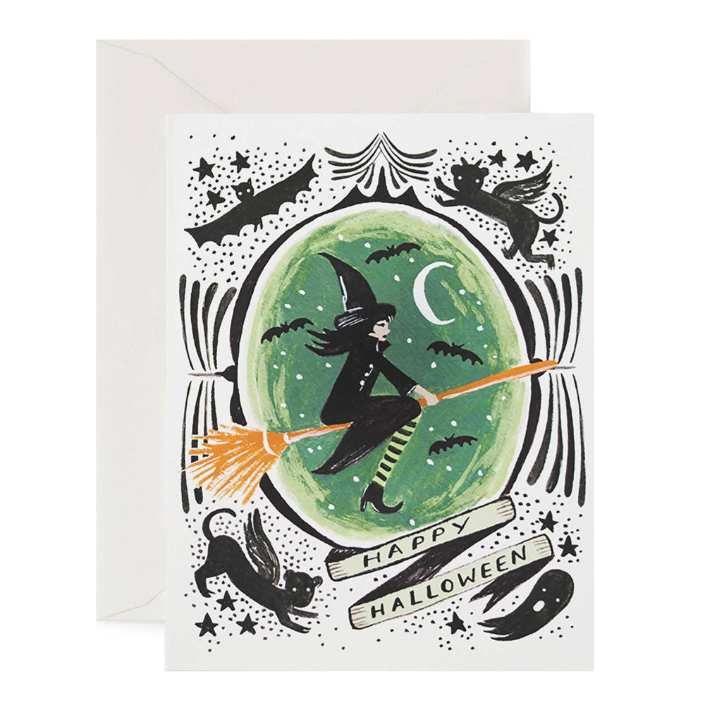 Witch of the West Halloween Greeting Card