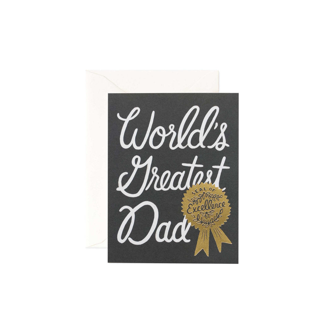 World's Greatest Dad Father's Day Greeting Card