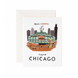 Wrigley Field Chicago Greeting Card