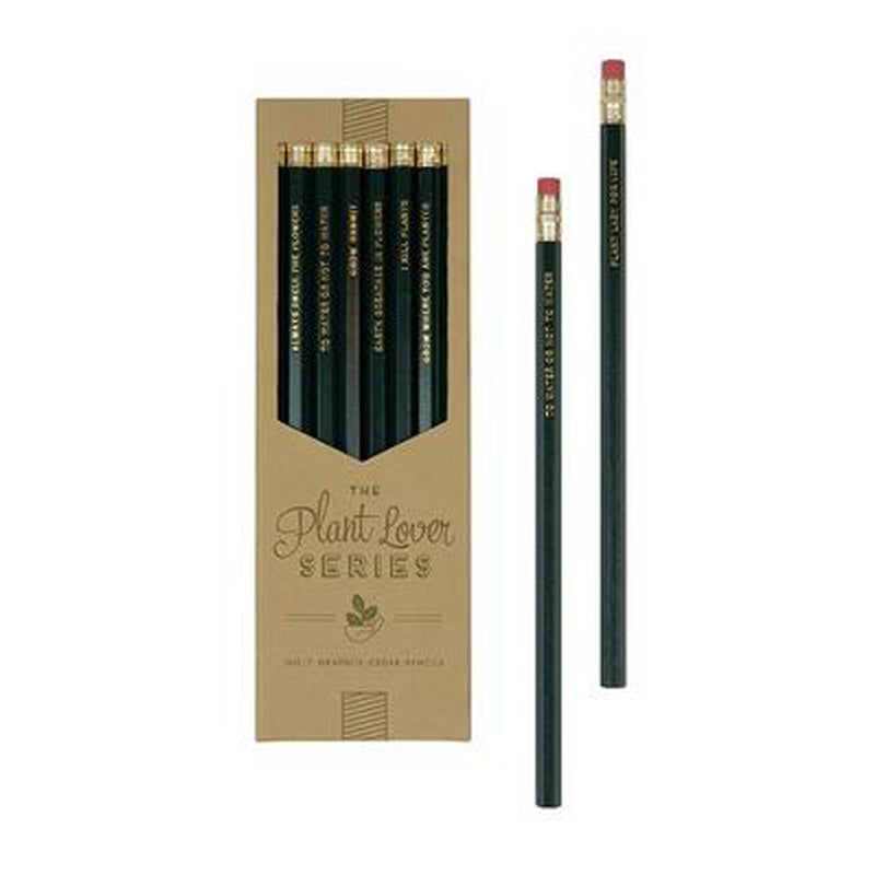 Plant Lover Series Pencils (Set of 8)