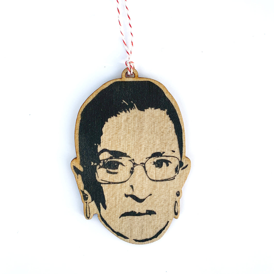 RBG Lasercut Wood Ornament