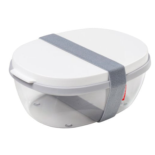 To-go Three-Compartment Salad Lunch Box