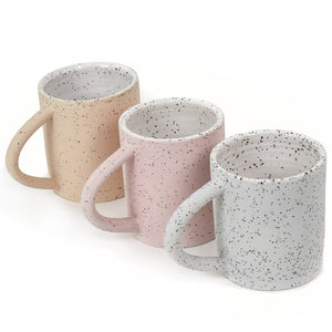 Matte Speckled Handmade Ceramic Mug