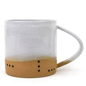 Handmade Ceramic Dot Mug