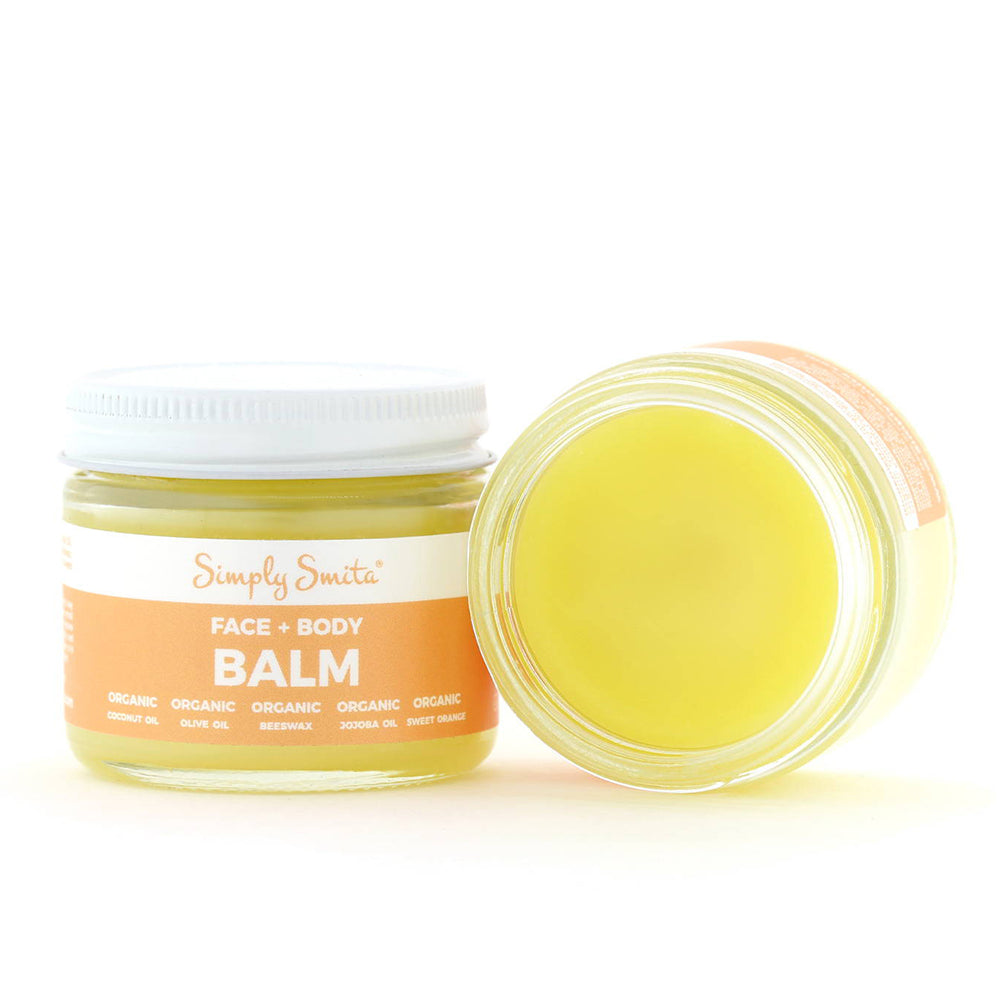 Organic Sweet Orange Face and Body Balm