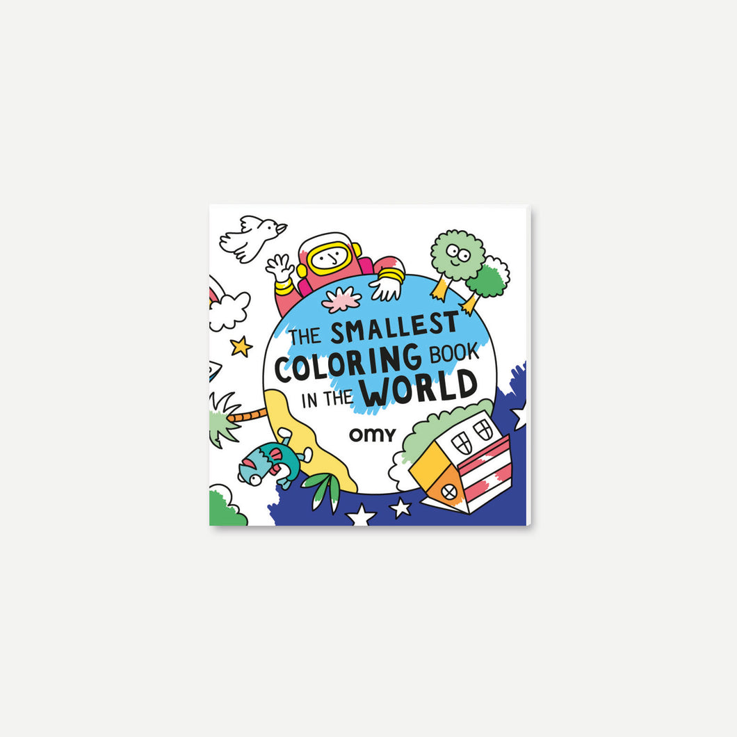 Smallest Coloring Book in the World
