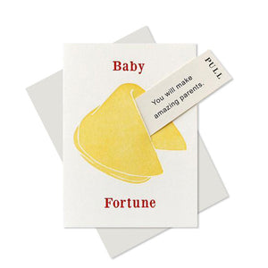 Amazing Parents Fortune Cookie Baby Card