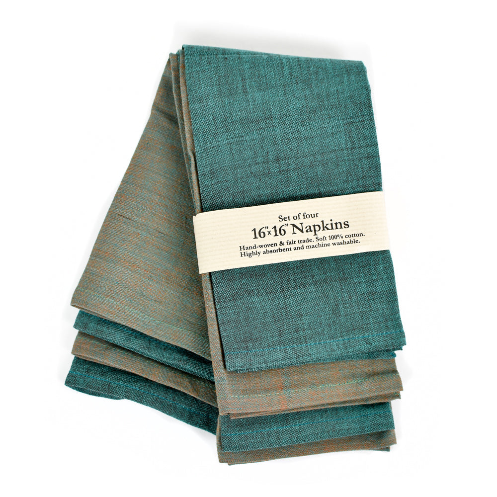 Fair Trade Dinner Napkins (Set of 4)
