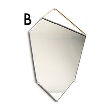 Geo Rock Shape Mirror
