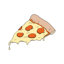Pizza Slice Tattoo