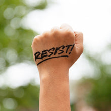 Resist Temporary Tattoo