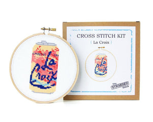 "Pamplemousse La Croix 5"" Cross Stitch Kit"
