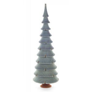 Handmade Wood Turned Tabletop Holiday Tree