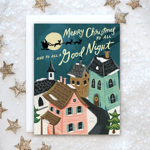 Night Before Christmas Holiday Card