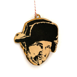 Uncle Eddie Christmas Vacation Lasercut Wood Ornament