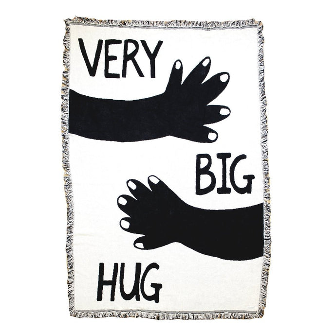 Very Big Hug Black & White 44