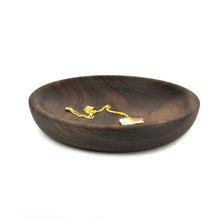"Shallow 6"" Wood Bowl"