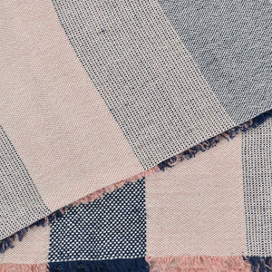 Hand-Woven Cotton & Linen Beach Towel or Throw