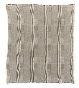 "Woven Striped 52"" x 60"" Throw"