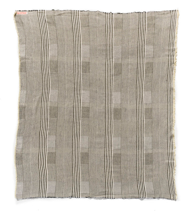 "Hand-Woven Striped 52"" x 60"" Throw"
