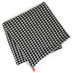 Checkered Cotton Waffle Kitchen Hand Towel