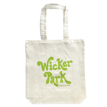 Wicker Park Neighborhood Logo Tote Bag
