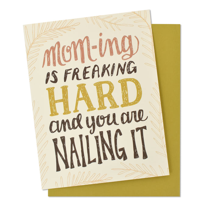 Mom-ing Mother's Day Card