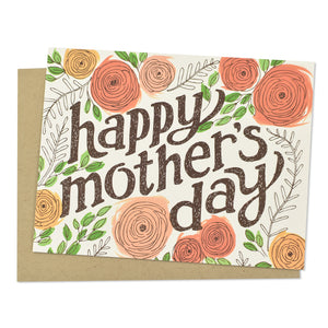 Pretty Floral Mother's Day Card