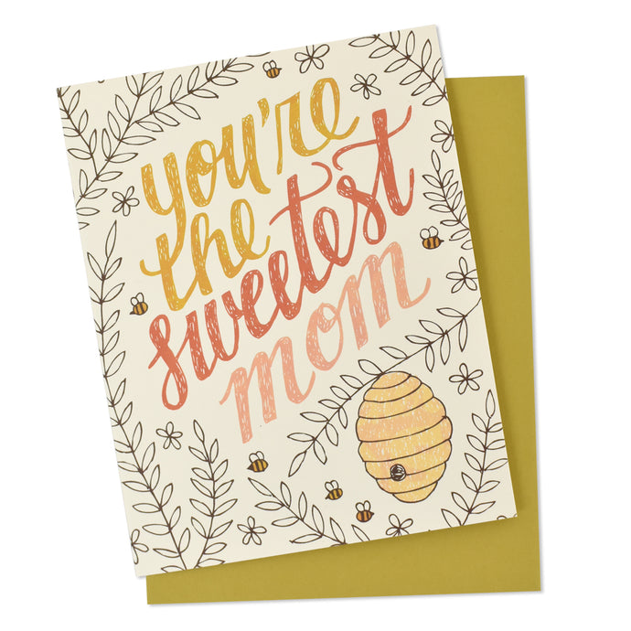 Sweetest Mom Mother's Day Card