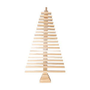 Wooden Tabletop Christmas Tree