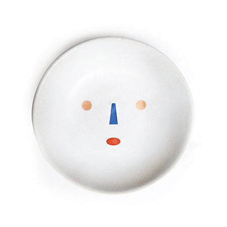Handmade Porcelain Face Ring Dish