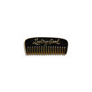 Looking Good Comb Enamel Pin