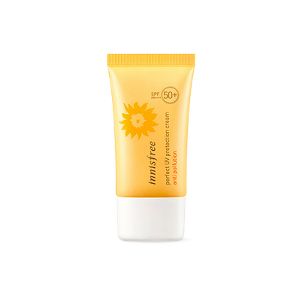 Protector Solar Anti Polución de Innisfree SPF50+ PA++++ 50ml [Perfect UV Protection Cream Anti Pollution]