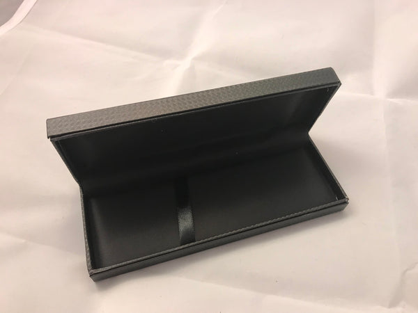 Black Carbon Fiber Pen Case