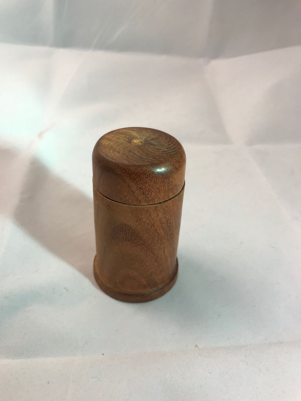Wooden Round Jewelry Canary Wood
