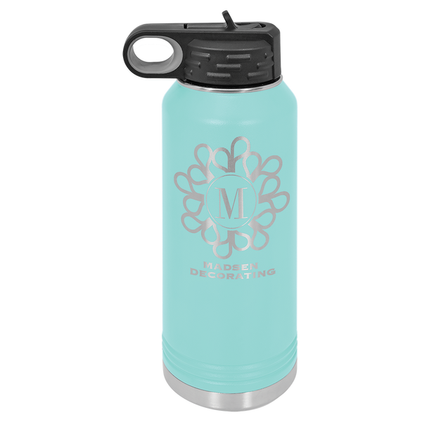 Monogram Water Bottle 32 Ounce