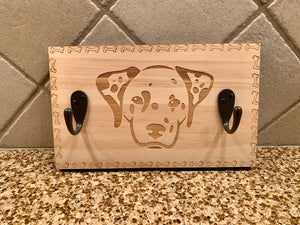 Dalmatian Leash Wall Hanger
