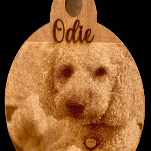 Digital photo wooden ornaments