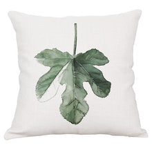 Load image into Gallery viewer, Wholesale pillow cover home car sofa decorative pillow case Tropical plant rain forest fern wedding gift cushion cover